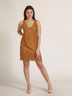 Сукня гірчичного кольору   5790298