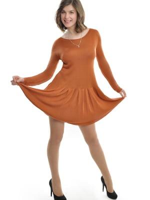Сукня теракотового кольору | 5793362
