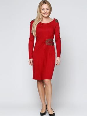 Платье красное | 5796818