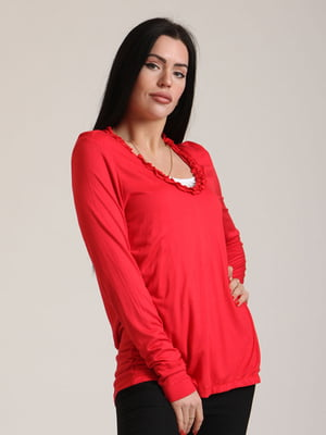 Пуловер красный | 5796847