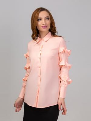 Сорочка персикового кольору   5799627