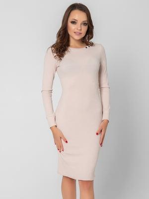 Платье бежевое   5799647