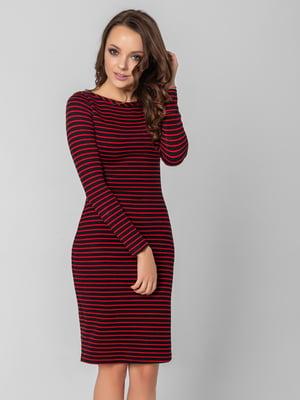 Платье черное в полоску   5799670