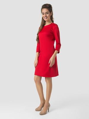 Платье красное   5799677