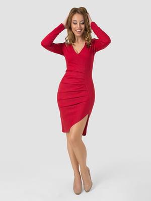 Платье красное   5799681