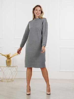 Платье серое | 5800058