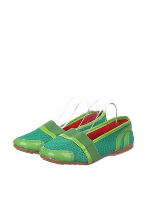 Эспадрильи зеленые   4905118