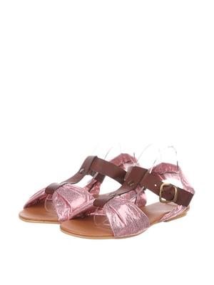 Босоніжки рожеві   4905446