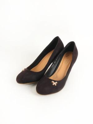 Туфлі темно-бордові | 5253578