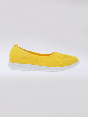 Мокасины желтые | 5789589