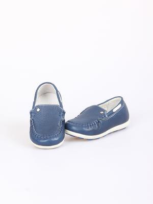Мокасины синие | 5792925