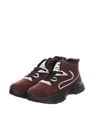 Черевики коричневі | 5795658
