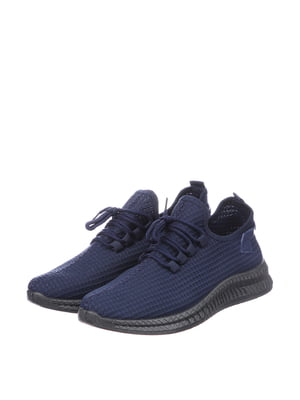 Кроссовки синие | 5796569