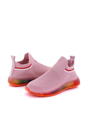 Кросівки рожеві | 5796612
