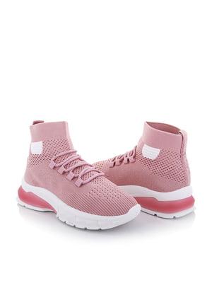 Кроссовки розовые | 5796742