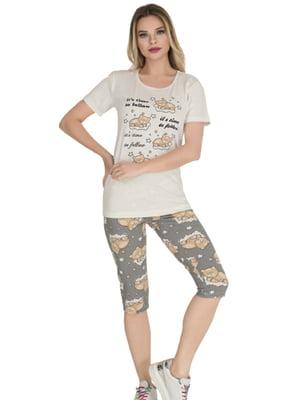 Комплект: футболка и бриджи | 5800435