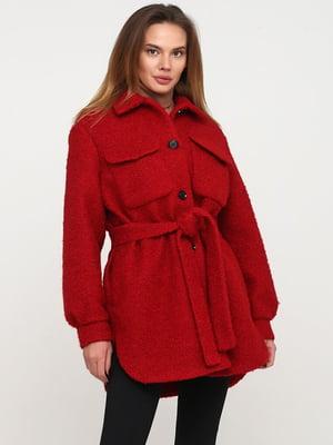 Пальто червоне   5800462