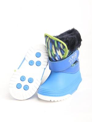 Сапоги резиновые синие | 5800858