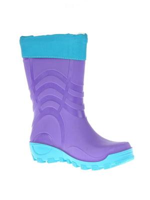 Сапоги резиновые фиолетовые | 5800863