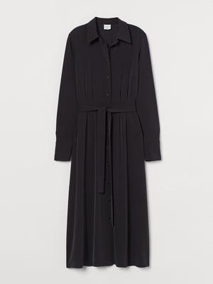 Сукня-сорочка чорна | 5801309