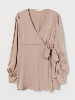 Блуза для беременных бежевая   5801371