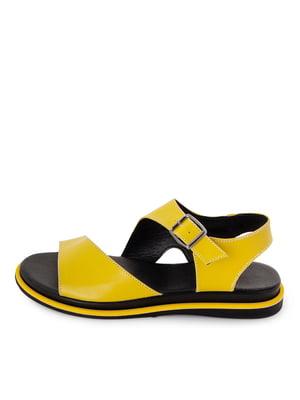 Сандалі жовті   5801679