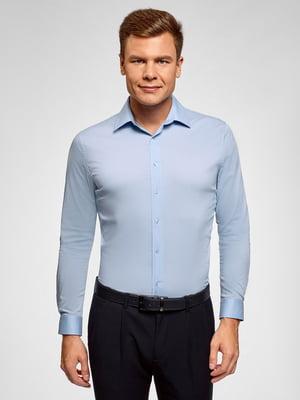 Рубашка голубая   5802325