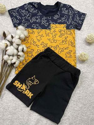 Комплект: футболка и шорты | 5802759