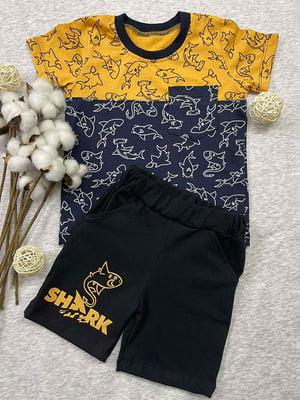 Комплект: футболка и шорты | 5802760