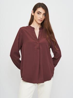 Блуза бордова | 5802992