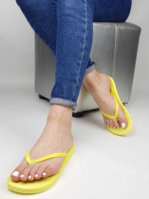 Вьетнамки желтые | 5804177