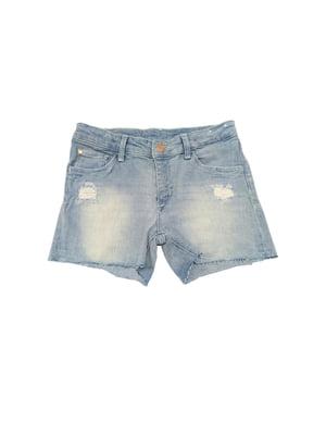 Шорти блакитні джинсові   5803686
