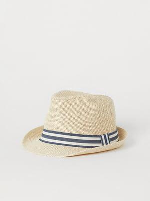 Шляпа бежевая   5804155