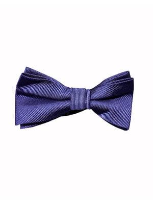 Галстук-бабочка темно-синий | 5804734