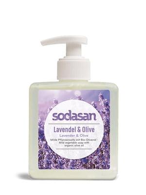 Мило органічне Lavender-Olive рідке, заспокійливе, з лавандовою і оливковою олією (0,3 л)   4002206
