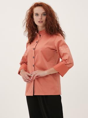 Рубашка персикового цвета   5807094