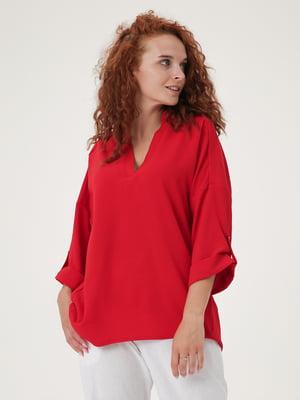Блуза красная   5807118