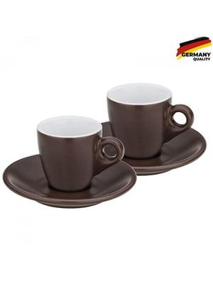 Набор чашек с блюдцем для эспрессо (6,5 см)   5807052