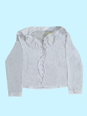 Блуза белая   5787298