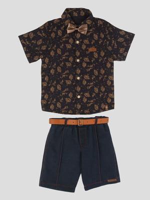 Комплект: рубашка и шорты | 5787409