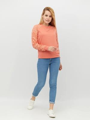 Свитшот персикового цвета | 5811229
