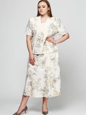 Костюм: жакет, блуза і спідниця   5810210