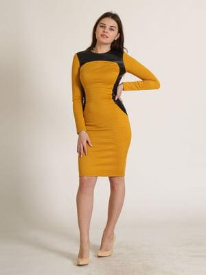 Сукня гірчичного кольору   5811016