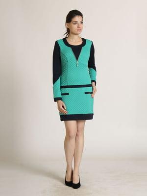 Сукня двокольорова   5811020