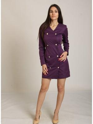 Платье фиолетовое   5811156