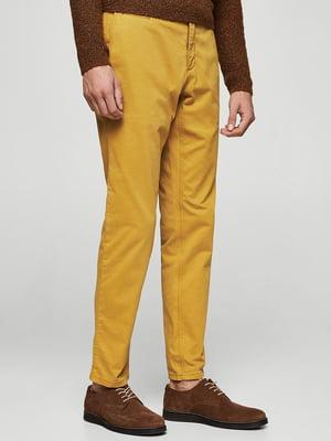 Брюки желтые   5785126