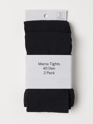 Колготки для беременных черные (40 ден)   5818656
