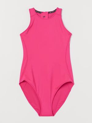 Купальник спортивный розовый | 5818704