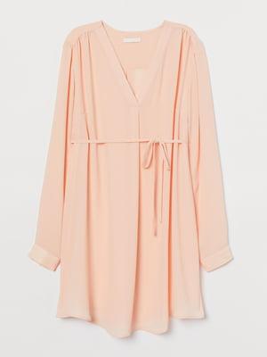 Туніка для вагітних персикового кольору | 5818863
