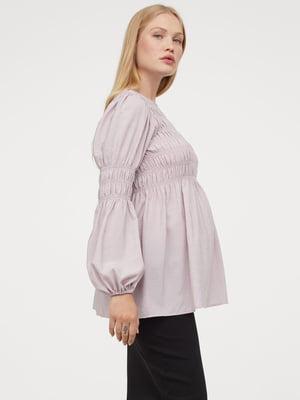 Блуза сиреневая   5819213